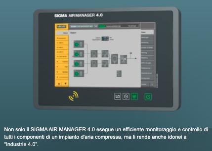 sigma air manager di kaeser compressori