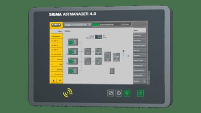 Sistema di controllo avanzato per compressori: Sigma air manager 4.0
