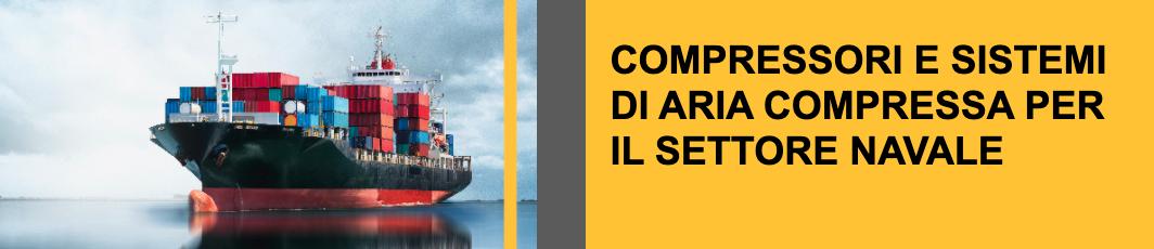 compressori e sistemi aria compressa settore navale